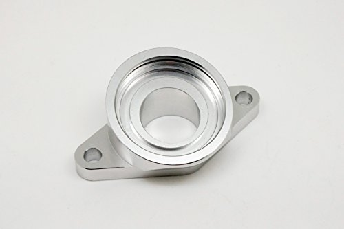 Autobahn88 CNC Aluminum HKS SQV Blow Off Value BOV Adapter Flange, for Nissan Skyline R32 R33 R34 R35 GTS GTT ()