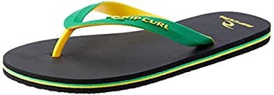 Rip Curl MC 2 Tone Men's Casual Shoe, Green/Yellow, 12 AU