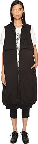 adidas Y-3 by Yohji Yamamoto Women's Matte Down Vest Black Small Matte Black Vest