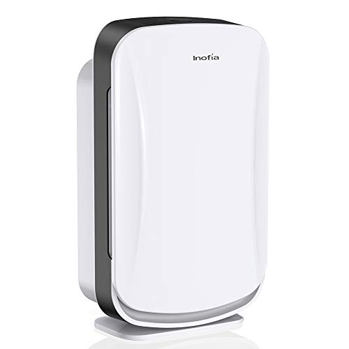 Inofia Air Purifier with True HEPA Air Filter, Air Cleaner for Large Room, for Spaces Up to 600 Sq Ft, Perfect for Home/Office with Filter