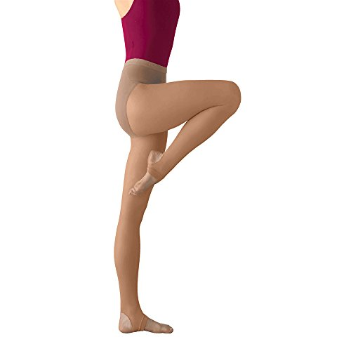 Stirrup Dance Tights (Body Wrappers Stirrup Tights, Jazzy Tan, 1X-2X)