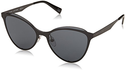Marc Jacobs Women's Cat Eye Sunglasses, Black/Grey Blue, One - Cat Marc Eye Jacobs Sunglasses