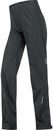 GORE Bike WEAR Women's Long Rain Cycling Overtrousers, Super-Light, GORE-TEX Active, Element Lady GT AS Pants,
