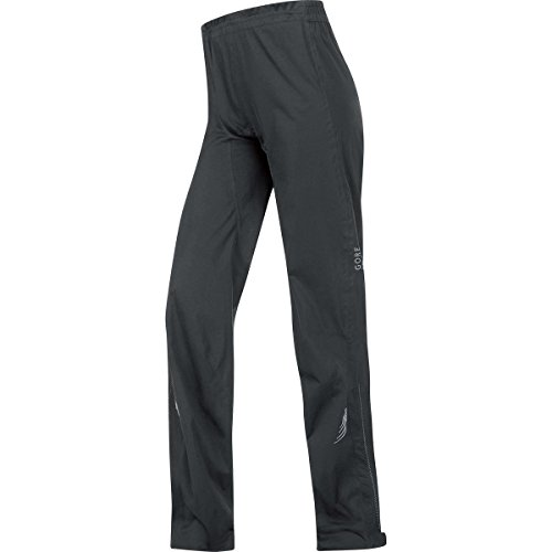 GORE BIKE WEAR Women's Long Rain Cycling Overtrousers, Super-Light, GORE-TEX Active,  LADY GT AS Pants, Size L, Black, PGDLEL