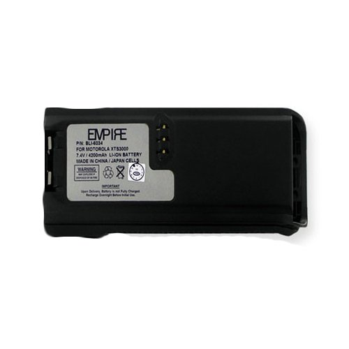 Ef Johnson 51SL ES 2-Way Radio Battery (Li-Ion 7.5V 4200mAh) Rechargeable Battery - Replacement for Motorola NNTN6034A Battery
