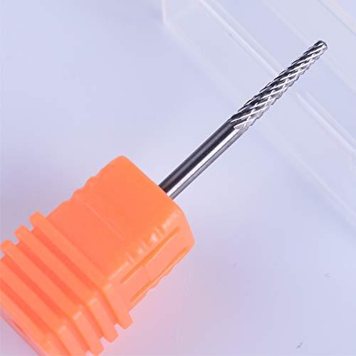 1Pcs 3/32'' Tungsten Carbide Burrs Cuticle Nail Art Drill Bit Electric Grind Accessory Manicure Pedicure Gel Cutter Tool JI16-22 19