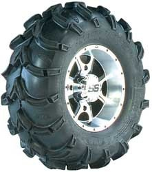 ITP Mud Lite XL, SS108, Tire/Wheel Kit - 26x12x12 - Black 41410R