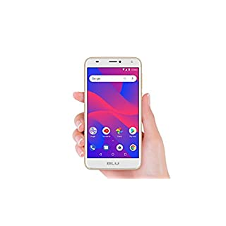 BLU C6 C031P Unlocked GSM Dual-SIM Android Phone w/Dual 8MP 2MP Camera - Gold