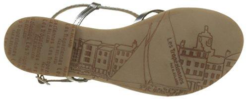 Les Tropéziennes par M. Belarbi Women's Monatres Sling Back Sandals Argent (Argent) 3DtTah0jS9
