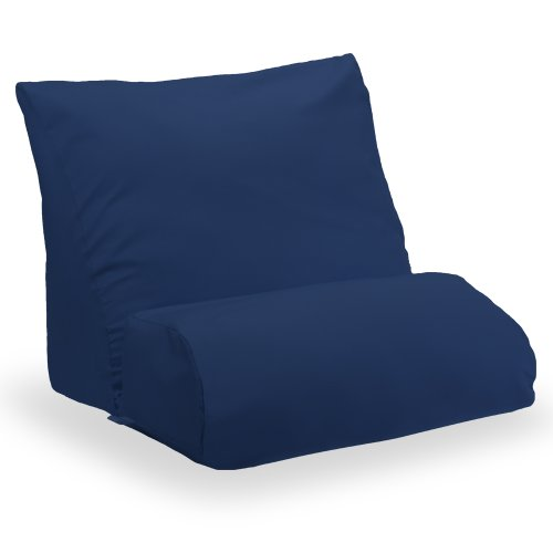 Flip Cushion - Contour Products, Flip Pillow Cover, Navy, Queen Size (25 inch width)