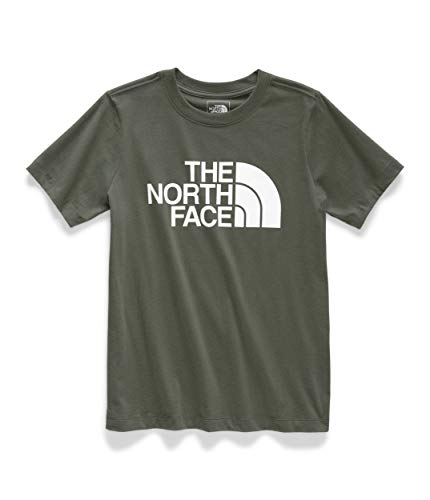 The North Face Half Dome SS Tee - Women's New Taupe Green/TNF White Small