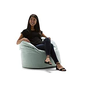 Stupendous Big Joe Stack Chair Turquoise Plush Bean Bag 0680562 Ibusinesslaw Wood Chair Design Ideas Ibusinesslaworg