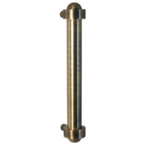"Allied Brass 402A-RP-BKM 18 Inch Refrigerator Pull 18"" Matte Black"