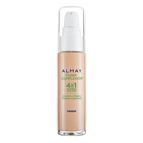 Almay Clear Complexion Liquid Makeup with Blemish Clear Technology, 900 Tan