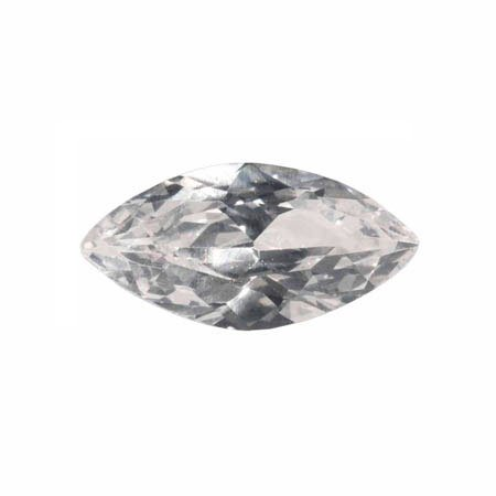 WireJewelry 14x7mm Marquise White Cz - Pack of 1