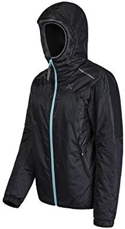 giacca montura primaloft nero con cappuccio