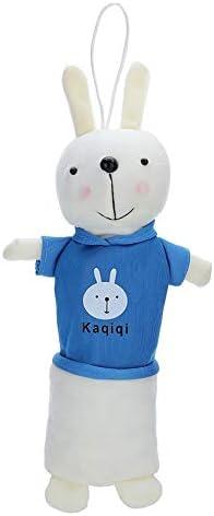 Haushele OFD - Estuche de peluche con dibujos animados, diseño de conejo Kawaii, color marine: Amazon.es: Oficina y papelería