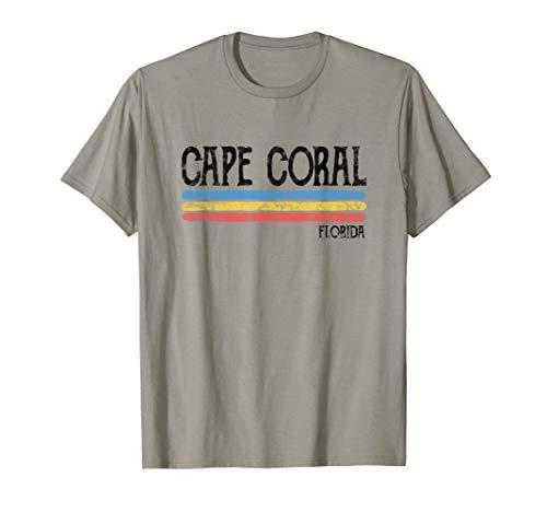 Vintage Cape Coral Florida Fl T-shirt Love Gift Souvenir