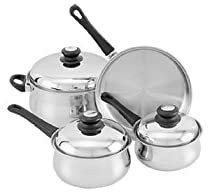 18/10 Stainless Steel 7 Pc Cookware Set, 472