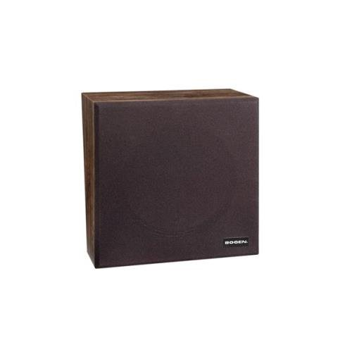 Bogen Wall Baffle Speaker - Walnut (BG-WB1EZ) - by Bogen