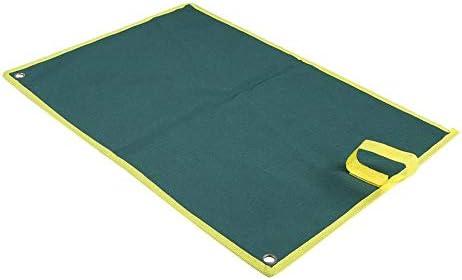 Jadeshay マルチポケットキャンバスロールアップツール収納袋スパナプライヤーレンチホルダーオーガナイザー(25個のポケット)