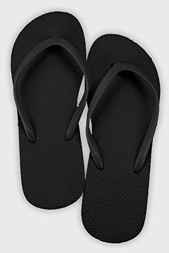 Wedding Flip Flop Favors Set of 6 Style 6830000, Black (Flip Wedding Flops Favors)