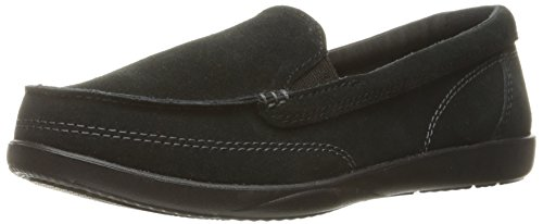Crocs Chaussures Walu II Suede Loafer Bateau Femmes Black