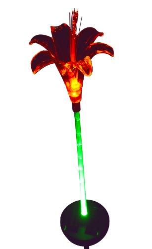 Chameleon Lily Flower Solar Garden Light