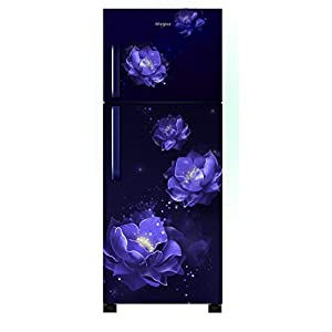 Whirlpool 265 L 2 Star Frost-Free Double Door Refrigerator (NEOFRESH 278H PRM 2S, Sapphire Abyss)