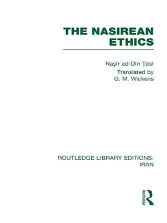 the nasirean ethics rle iran c pdf
