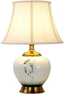 Dormitorio en casa lámparas de noche Lámpara de mesa de cerámica ...