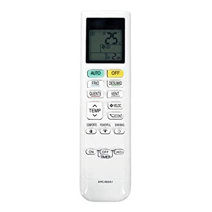 Universal Replacement Remote Control Fit for DAIKIN ARC480A6 ARC480A8 ARC480A11 Air Conditioner
