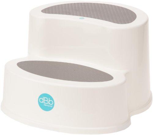 dBb Remond 307005-Tritthocker-rutschfest-Weiß