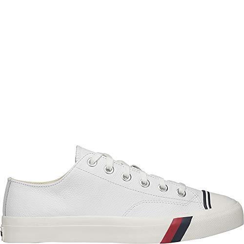 Keds Men's Pro Royal Lo Core Leather White Leather 9.5 D US D (M) ()