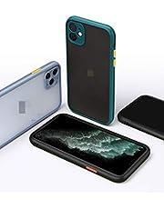 JNDY iPhone 11 Case Bumper Case 360 graden mobiele telefoon Case Transparante beschermhoes Cover [Ares] met ingebouwde schermbeschermer 6.1 inch 2019 editie (zwart-iphone11)