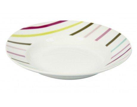 Assiette Creuse Pastille - Multicolore: Amazon.Co.Uk: Kitchen & Home
