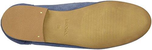 Bronx Bx 1249 Bspeziax, Mocasines para Mujer Blau (JEANS BLUE)
