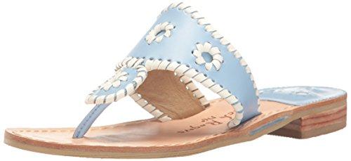 Jack Women's Pretty in Light Pastel Blue Dress Rogers Sandal grOq1Sg