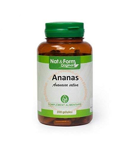 Atlantic Nature - Nat & Form Piña 200 cápsulas: Amazon.es: Salud y ...
