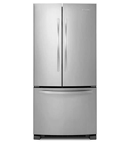 (Kitchenaid 22 Cu. Ft. Standard-depth French Door Refrigerator, A... (Renewed) )