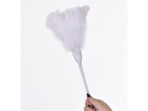 便利な人工Feather Dusterソフトダスターから家具をファンブレードのさまざまなジョブ(ホワイト) for電子デバイス   B07F8P31PY