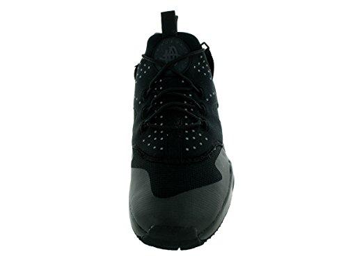 Nike Herren Air Huarache Utility Laufschuhe, Schwarz, 44 EU Black (Schwarz / Schwarz-Schwarz)