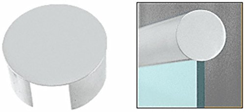 C.R. LAURENCE GR30ECSA CRL Satin Anodized End Cap for 3