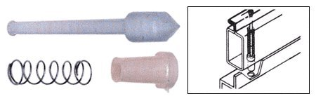 Nylon Plunger Latches for 3/4