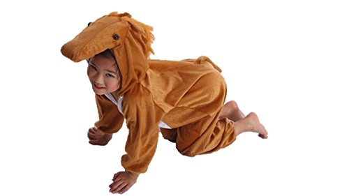 Kids Animal Costumes Boys Girls Pajamas Fancy Dress Outfit Cosplay Children Onesies (L (for Kids 41.5