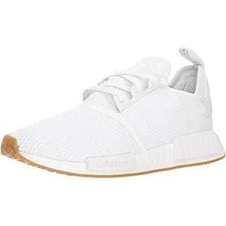 adidas Originals Men's NMD_r1 Shoe, Footwear White/Gum, 13.5 M US