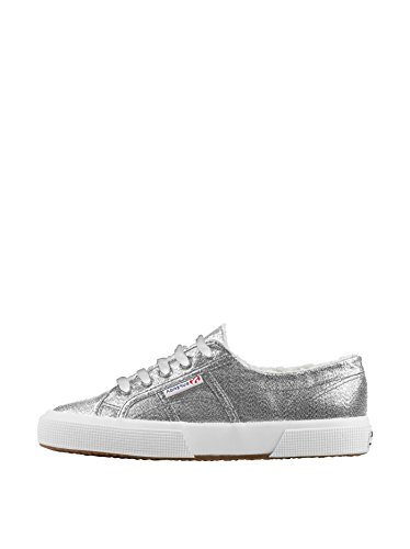 Superga 2750- LAMEBINW S0041Z0 - Zapatillas fashion de tela para mujer Plateado