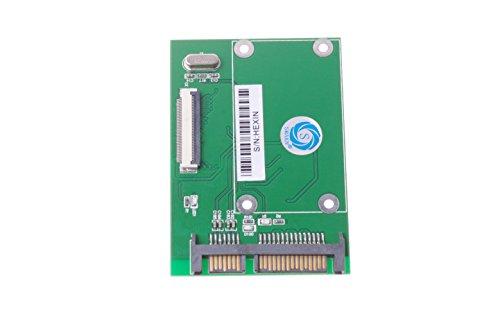 SMAKN® 1.8'' CE ZIF HDD to SATA Serial ATA 7+15Pin 22-Pin Adapter Converter by SMAKN