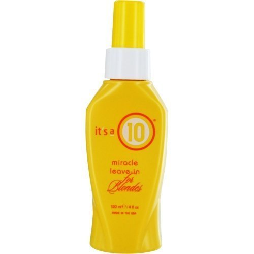It's a 10 Blonde Miracle Leave in Treatment, Pack of 3 by It's a 10