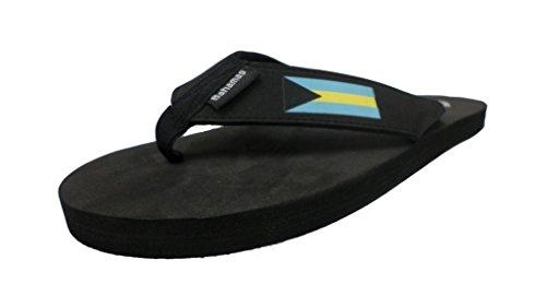 Menn Og Kvinners Bahamas Flip Flop Sandal Sort